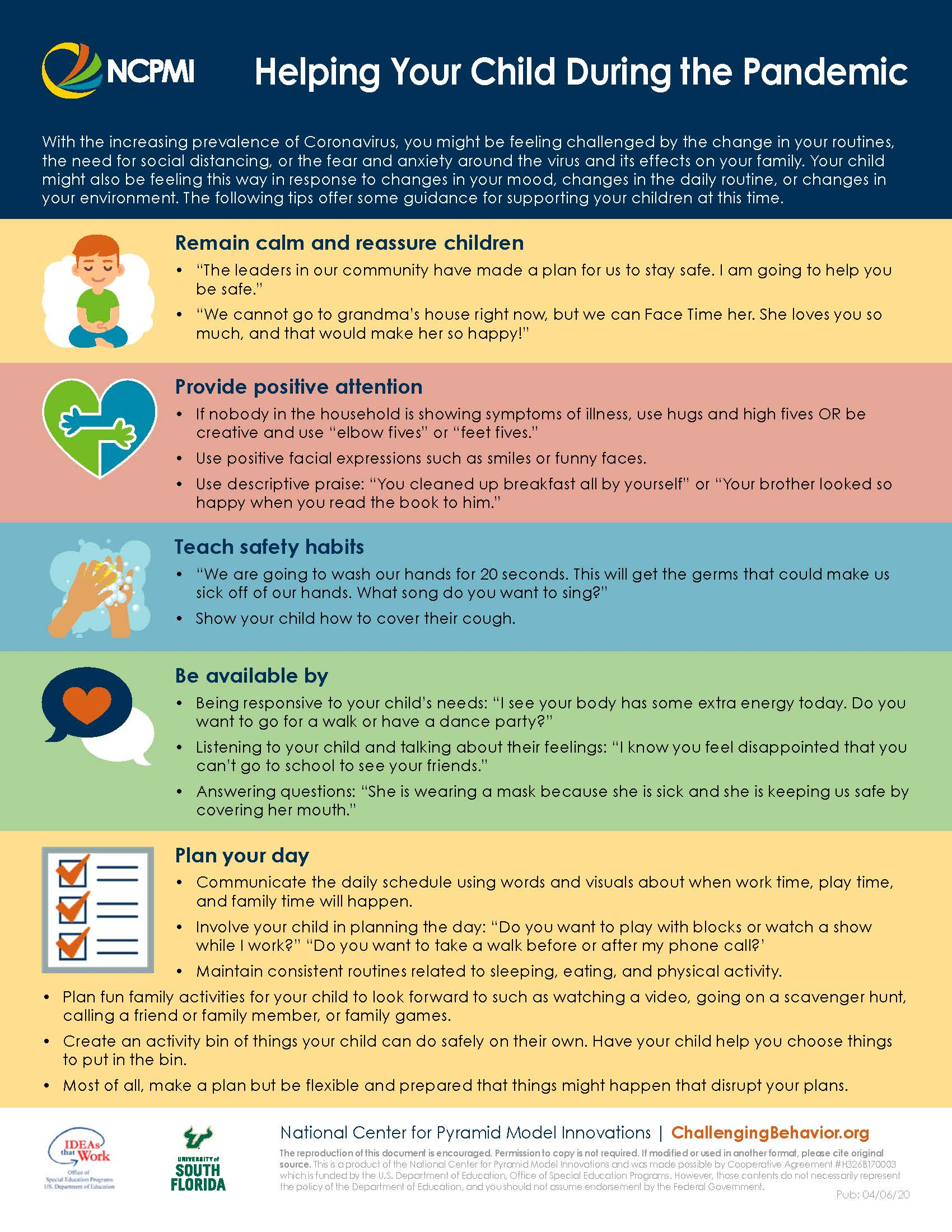 Tips for Helping Your Child During the Pandemic Image